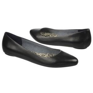 Dr Scholl's Really Memory Foam Black Flats